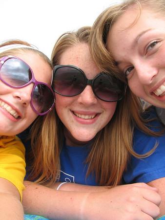Taryn, Lauren and Sarah's Beach Trip