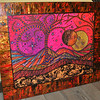 I so loved this piece of pink and magic painted on wood.