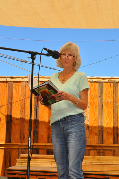 So much fun to go to a poetry reading at Sun Alley Shops hosted by Space Cowboy Books.