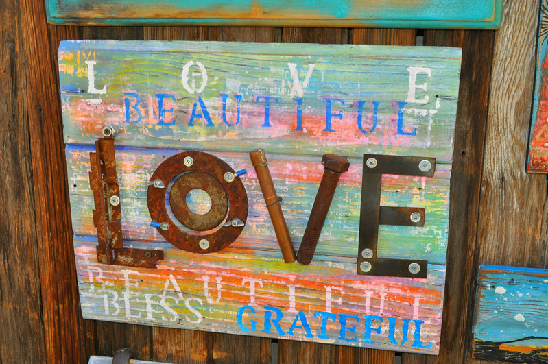Talented artist friend Tami Wood brightened up the Joshua Tree area with her whimsical I Love Joshua Tree Gallery in Sun Alley shops