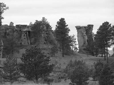 Medicine Rocks State Park, in Southeastern Montana near Ekalaka.