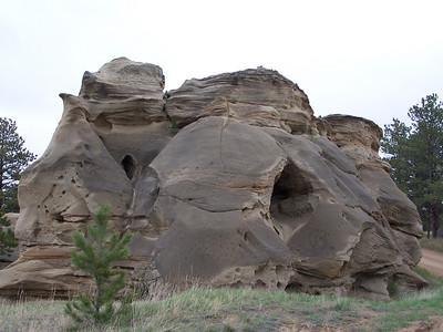 Medicine Rocks State Park near Ekalaka, Montana