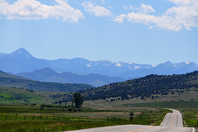 You have to love a road trip thru Big Sky Country, Montana. Near Norris, Montana. 7.09. edited.
