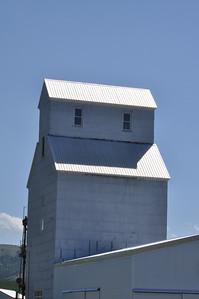 Elevator on a Montana farm.  Near Bozeman, Montana. 7.09