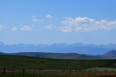 Near Norris, Montana.  7.09