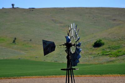 Windmill Near Norris, Montana.  7.09