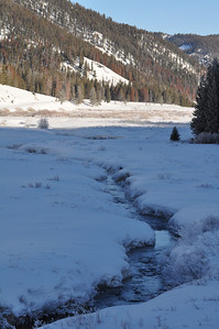 Peace like a river in my Soul. Between Big Sky & West Yellowstone, Montana. 3.10