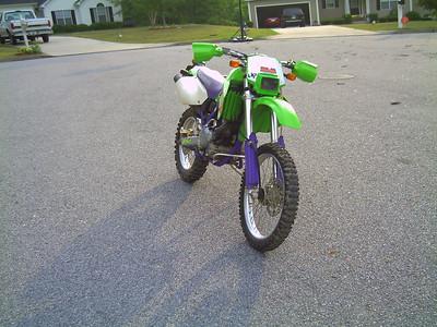 1996 Kawasaki KLX650R (2nd one)