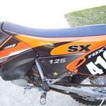 2001 KTM 125 sx