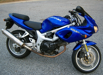 2001 SV650S Selling
