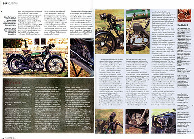1926 BSA Roundtank Article Pages 3 and 4
