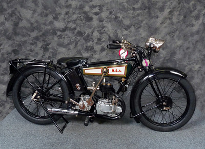 1927 BSA Model B Deluxe - Clubman Show