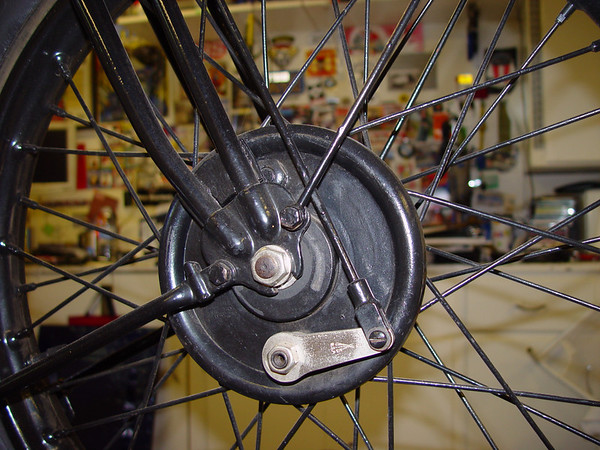 Front hub reference photo