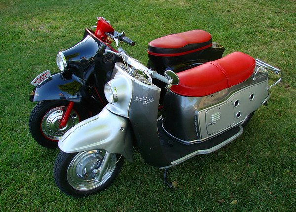 Maico & Velocette scooters