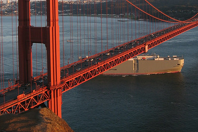 Golden Gate Bridge & Kirby Cove