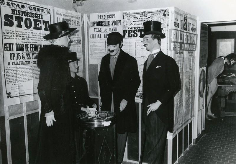 Museum voor Volkskunde: tentoonstelling 125 jaar Gentse Feesten.