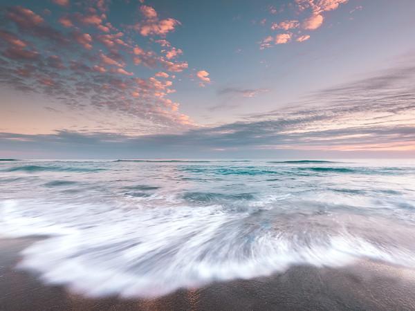 Soft and beautiful South Florida sunrise colors