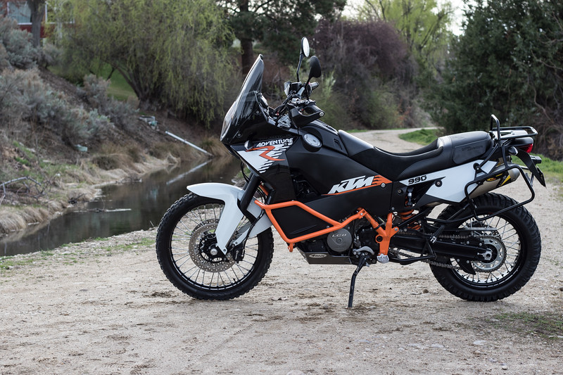 "2012 KTM 990 Adventure R - $10,000 OBO<br /> Approximately 18,500 Miles<br /> Bike is in ""Like New"" condition, runs perfect and includes the following:<br /> -Freshly Serviced<br /> -New Fuel Pump & Filter<br /> -Saddleman Seat<br /> -Black Dog Cycle Works Skid Plate<br /> -Black Dog Cycle Works Foot Pegs<br /> -KTM Crash Bars<br /> -KTM Pannier Racks<br /> -Hepco & Becker Top Case<br /> -Heated Grips"