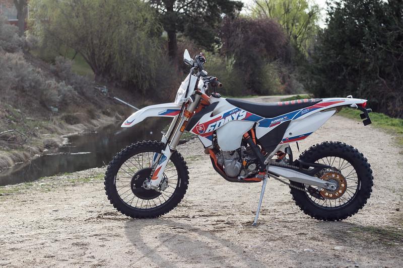 2016 KTM 500EXC Six Days-$150