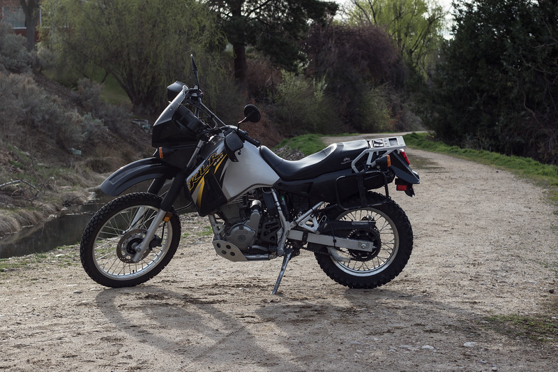 2007 Kawasaki KLR 650 - $2,500 OBO<br /> Approximately 9,500 Miles<br /> Some scratches to the plastic but the bike runs perfect and includes the following:<br /> -Scotts Auto Chain Oiler<br /> -Ricochet Offroad Skid Plate<br /> -Moose Racing Foot Pegs<br /> -DG Muffler