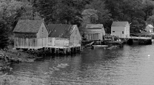 Outside of Peggy's Cove, Nova Scotia