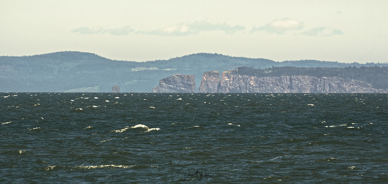 Cape Split in the Distance