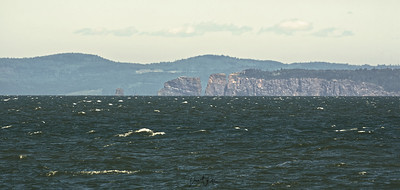 Cape Split in the Distance