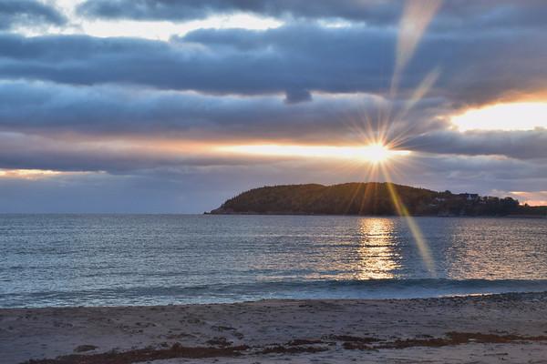 Sunburst Sunrise, Cape Breton Island