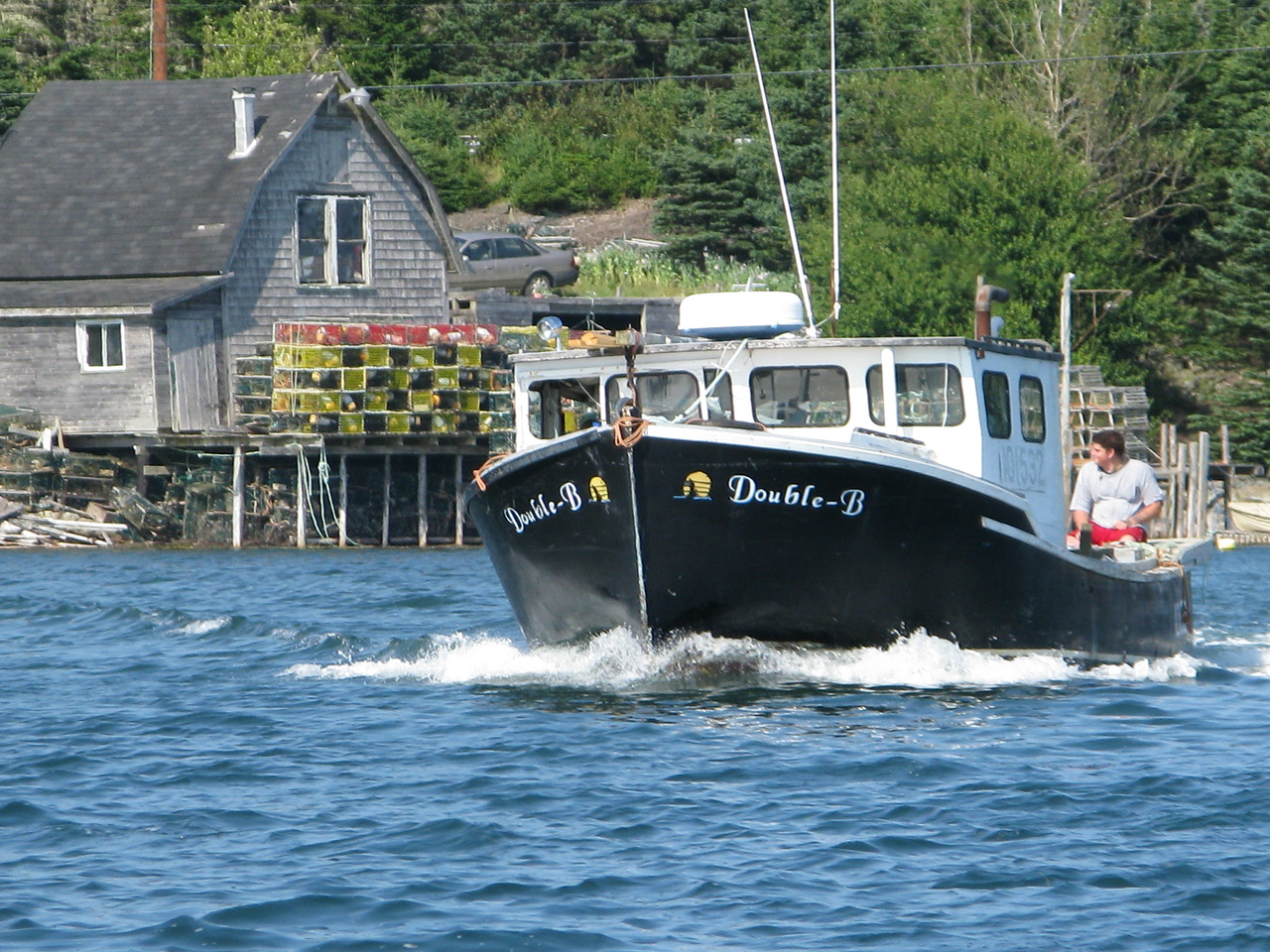 Bush Island Boat