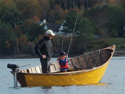 Father and Daughter Fish on the LaHave River