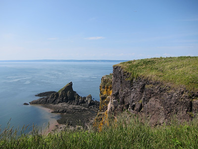 Cape Split on the Bay of Fundy