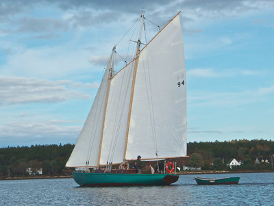 Schooner on the LaHave