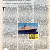 July 1999 Travel Agent magazine - Cunard Line