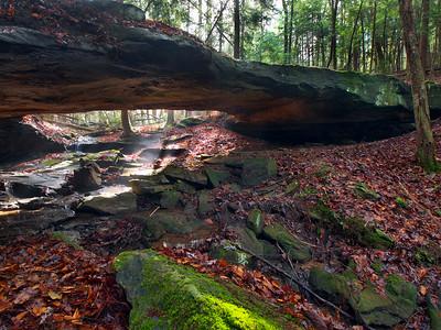Bald Rock Natural Bridge - 1