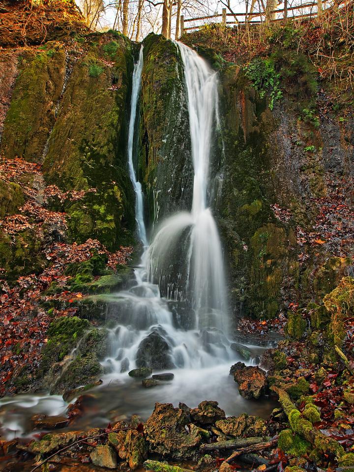 Mill Springs Left Waterfall