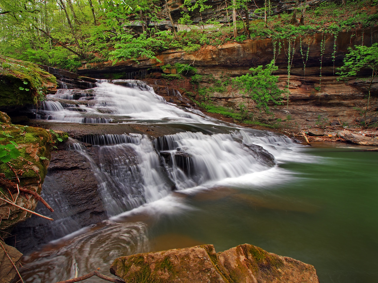 Towne Creek Falls - Lower Section - 1