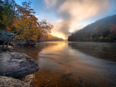 Sunrise Over The Cumberland River - 5
