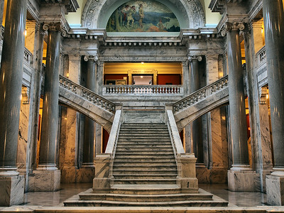 Kentucky Capitol - Stairs To The House Of Representatives