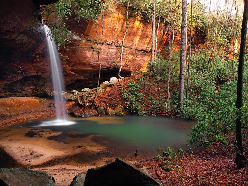 Copperas Creek Falls - 2