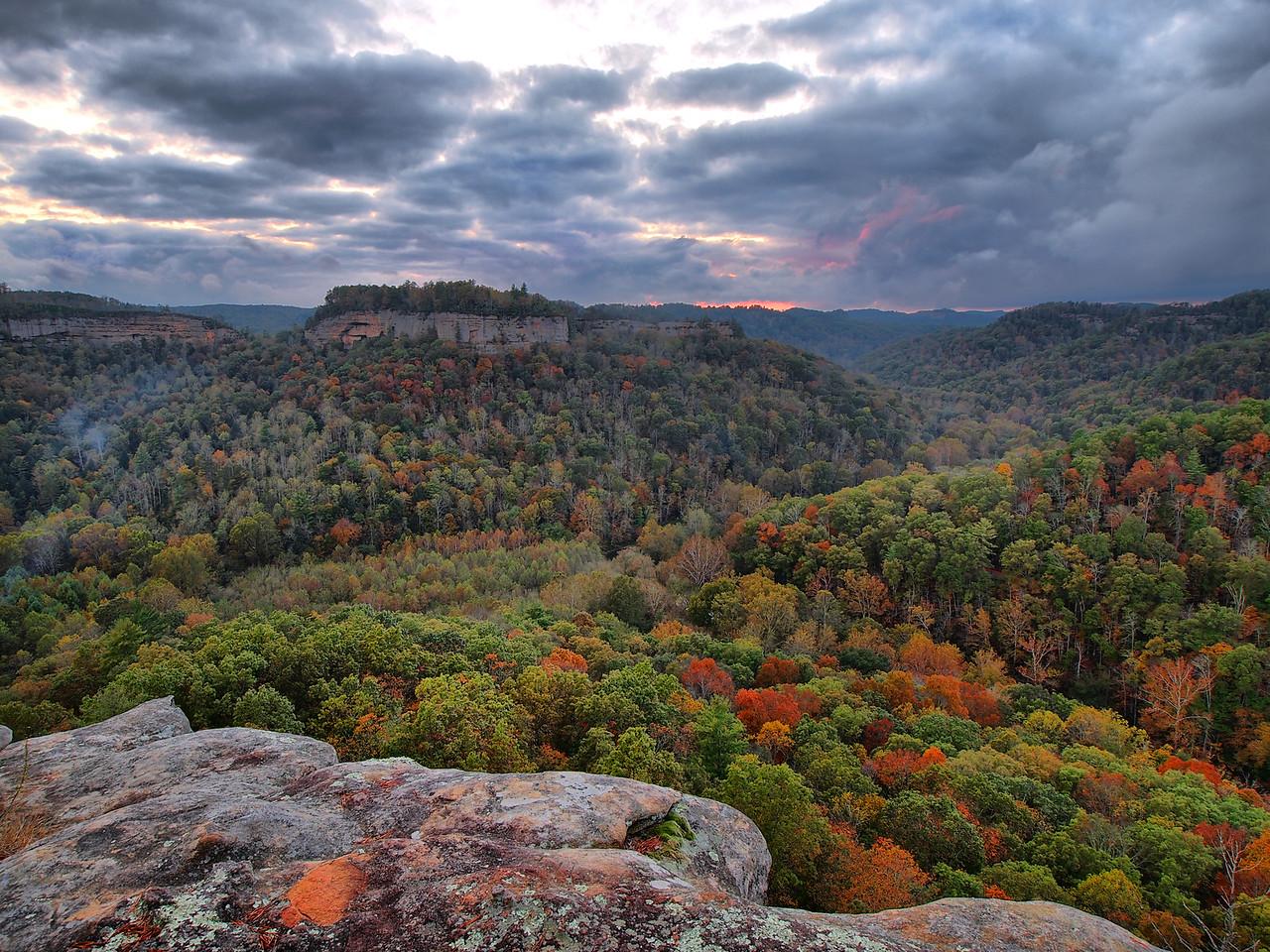 Chimney Rock Overlook - 1