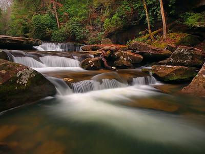 Bark Camp Creek Cascades - 2