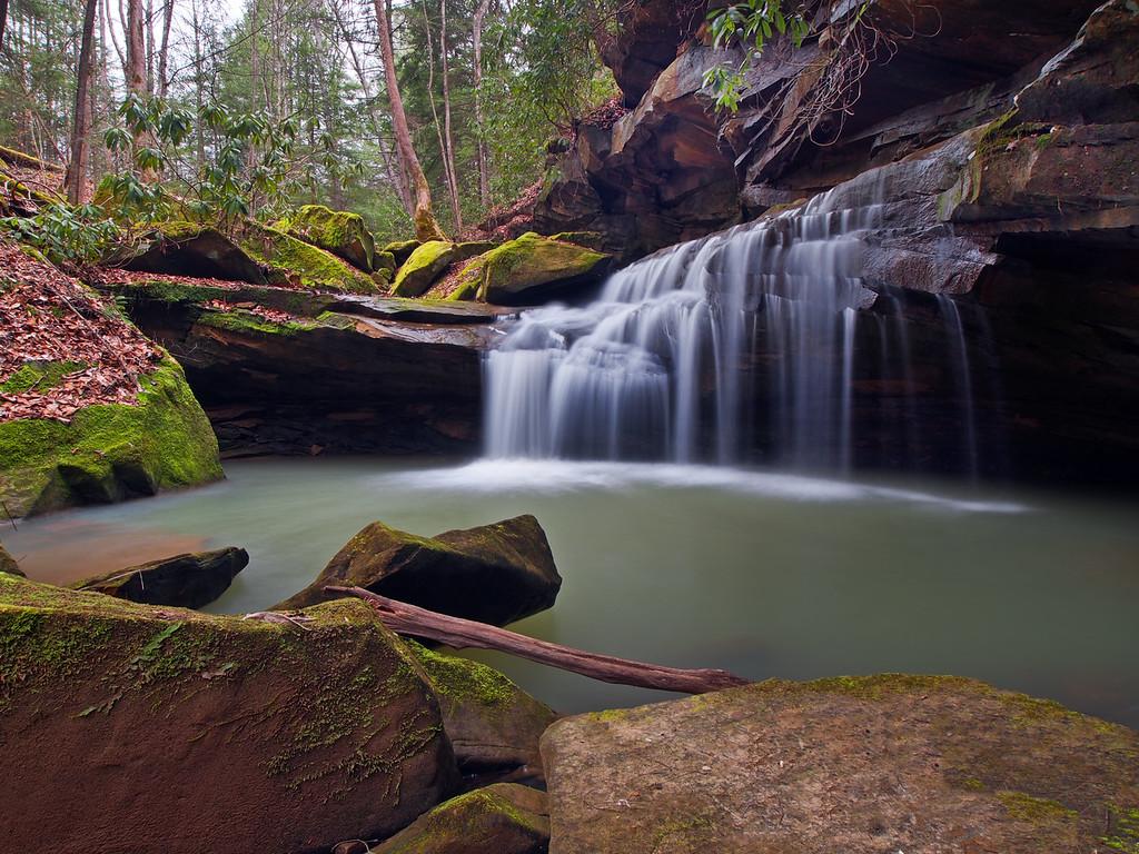 Lower Waterfall On Big Bloody Creek - 2