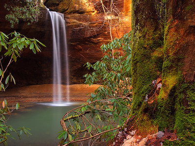 Waterfall on Copperas Creek