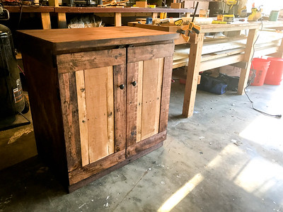 Custom filing drawer cabinet
