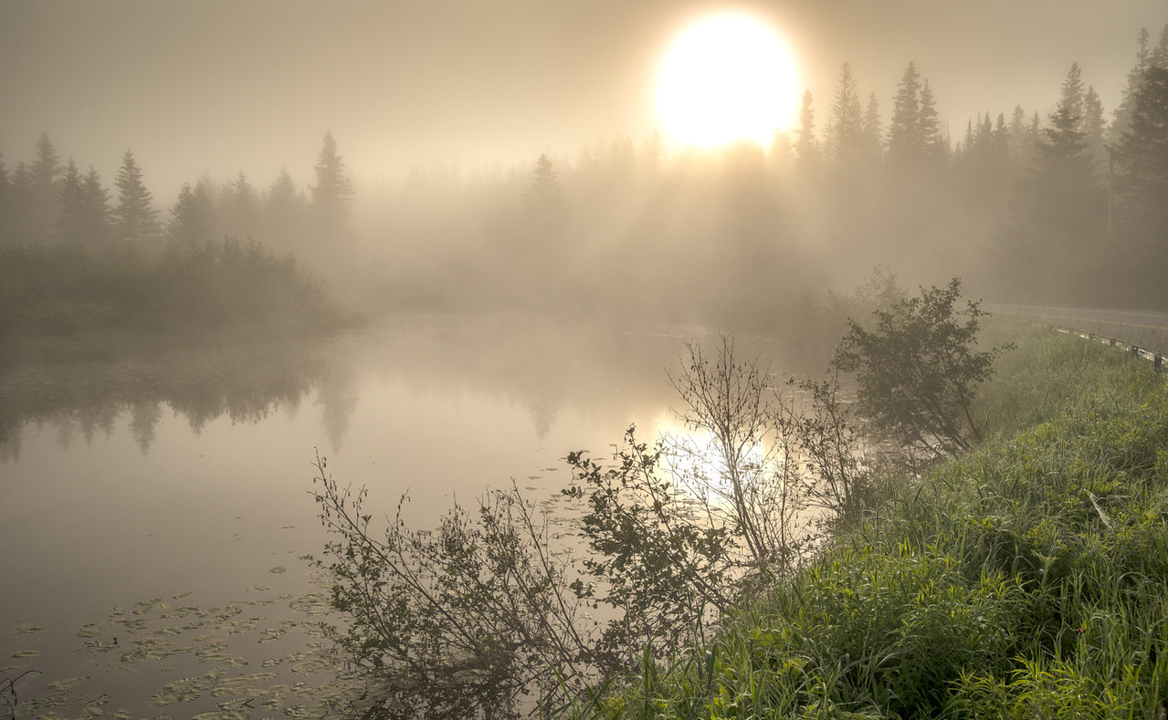 June Sunrise at the Ausable