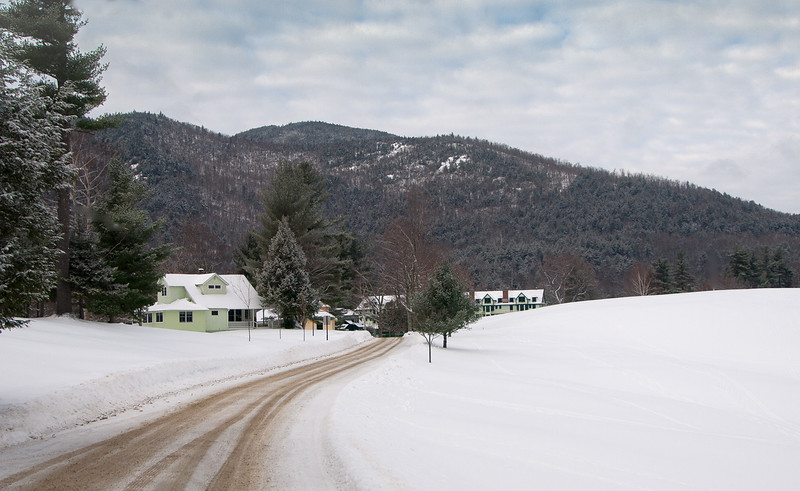 Ausable Club in Winter