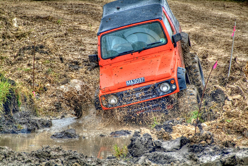off road in barbados
