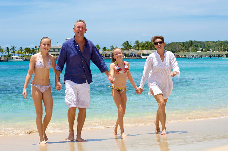 Family portrait photographer in Barbados