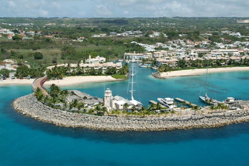 Port St Charles photographed by Barbados Photography