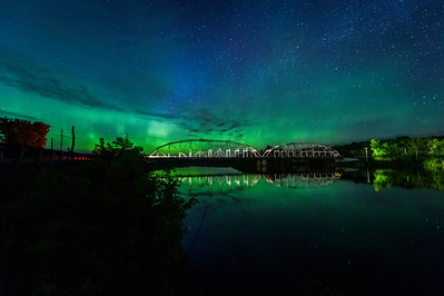Northern Lights at the Cobban Bridge_052717_5089